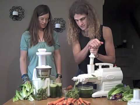 Hurom Juicer vs Green Star Juice, Episode #272 - YouTube