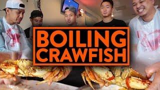 EPIC ASIAN CAJUN CRAWFISH BOIL w/ RICHIE LE, TAN, JOHNNY - Fung Bros Food