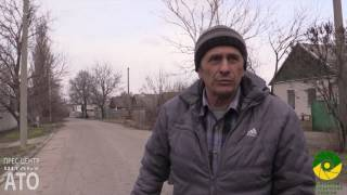 Наслідки обстрілу вулиці Колосова в Авдіївці