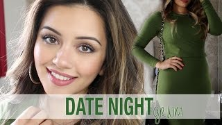 GRWM | Date Night Get Ready With Me Makeup, Hair + Outfit | Kaushal Beauty