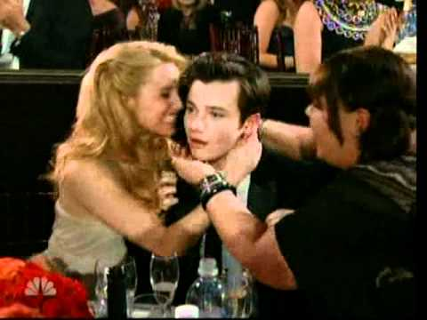 Golden Globes 2011: Chris Colfer wins for best performance by an actor in a supporting role,