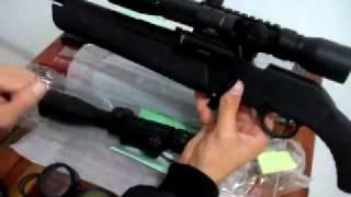 Luneta Rifle Scope Carabina Gamo 8-32x50, Bushnell 3-9x40E