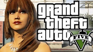 GTA 5 - The Mystery of Sapphire the Stripper (Funny Moments In Grand Theft Auto V)