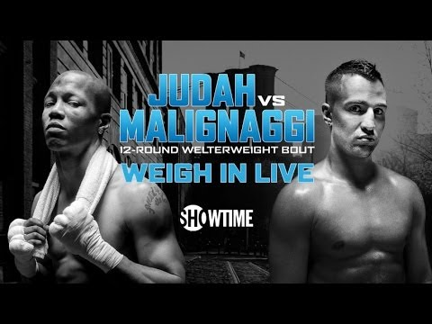 Live Weigh-In: Judah vs. Malignaggi & Alexander vs. Porter & Lara vs. Trout - SHOWTIME
