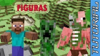 ¿Como Hacer Figuras De Papel De Minecraft?