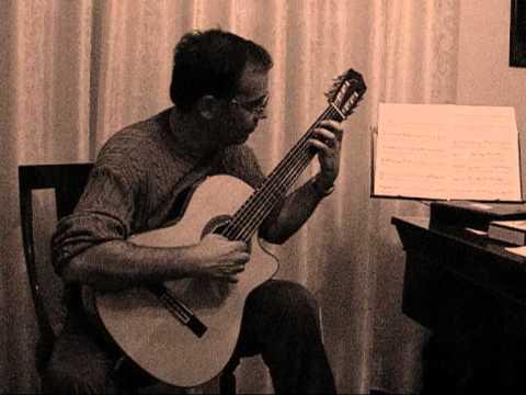 Antonio Politi classic guitar: adagio di Albinoni