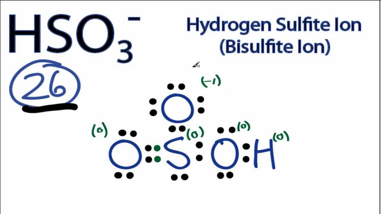 HSO3- Lewis Structure: How to Draw the Lewis Structure for ... H2 Lewis Dot Structure