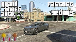 The Fastest Sedans In GTA V
