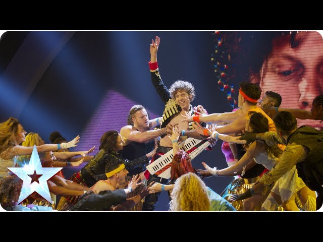 Maarty Broekman is a born 80's entertainer | Semi-Final 5 | Britain's Got Talent 2013