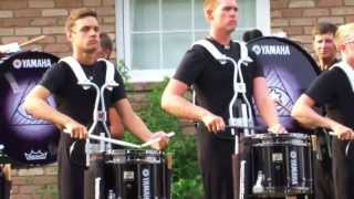 DCI In The Lot: The Cavaliers 2013 Drumline