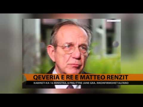 Qeveria e re e Matteo Renzi-t - Top Channel Albania - News - Lajme
