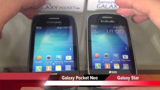 Samsung Galaxy Pocket Neo Vs Galaxy Star