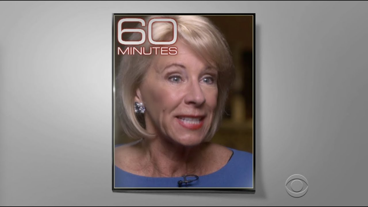 Via The AFT: DeVos' 60 Minutes Interview Reveals Ignorance About Education