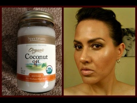 Beauty Benefits of Organic Coconut Oil for Skin & Hair