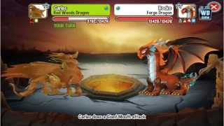 Dragon City: All Cerberus Temple Battles