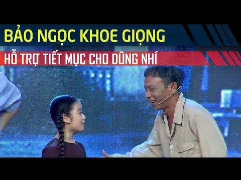 Bảo Ngọc khoe giọng hát thiên thần khi trợ diễn cho Tuyền Mập, Dũng Nhí