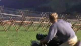Steve McQueen Motorcycle Jump In The Great Escape