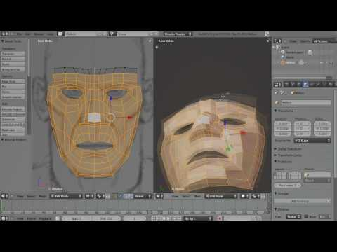 Blender Character Modeling part 01