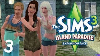 Let's Play The Sims 3 Island Paradise (Part 3) Scuba