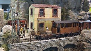Modellbahn Diorama Île Va 0ú in Spur 0e von Thomas Schmid