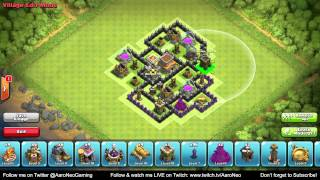 BEST Town Hall Level 8 (TH8) Defense Strategy Clan Wars