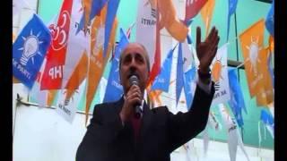 Ak Parti Genel Başkan yardımcısı Numan Kurtuluş Bucak'ta konuştu