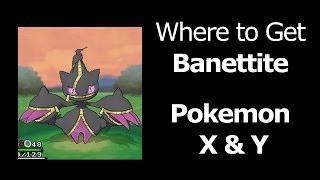 Where To Find Banettite Pokemon X Y Banettite Mega Banette