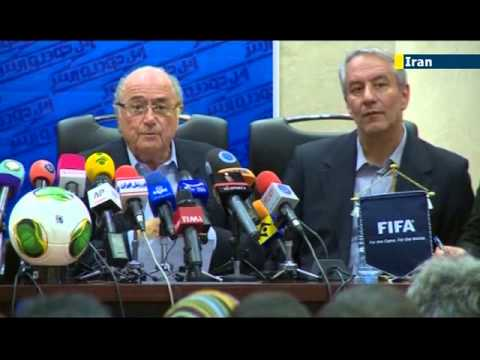 FIFA President Sepp Blatter asks Iran to lift Islamic ban on women attending football matches