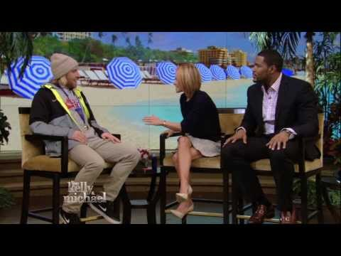 Gold Medalist Sage Kotsenburg on LIVE with Kelly and Michael