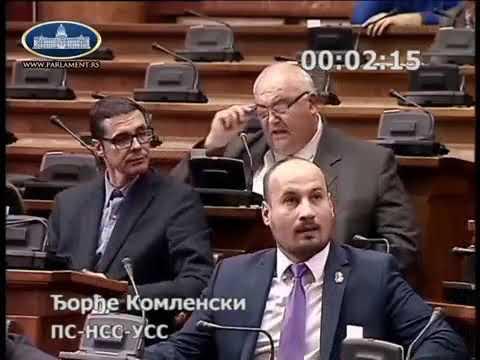 Ђорђе Комленски ,,Ако сте Руси онда могу да вам поверим дете!