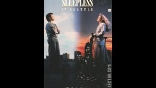 Opening To Sleepless In Seattle 1993 VHS