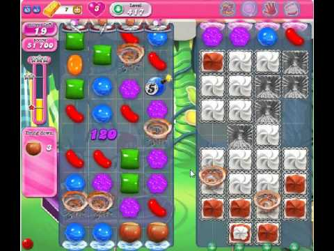 how to beat candy crush saga level 417 2 stars no boosters 117