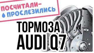 Сколько на самом деле стоят керамические тормоза на Audi Q7/SQ7?! // Посчитали-прослезились. Видео Авто Вести Россия 24.