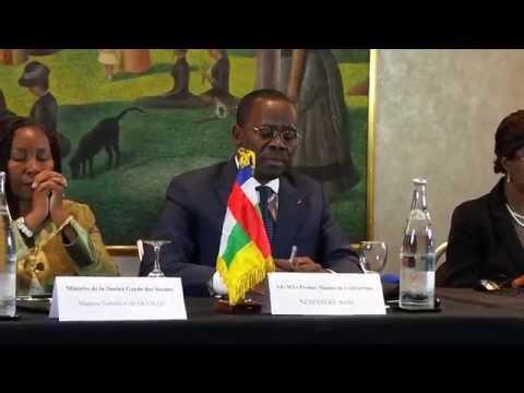 Rencontre du 1er Ministre avec la diaspora centrafricaine de France