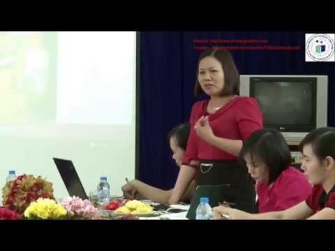 [Tập Huấn GPE-VNEN] Sinh hoạt chuyên môn Trường TH Hoàng Văn Thụ - Lào Cai T4 2015 - TPHCM T7 2015
