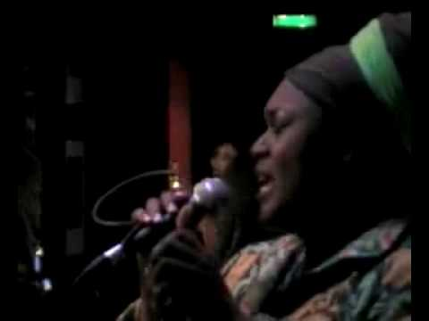 Jumoke Fashola @ Jazz Verse Jukebox 12th July 09 online metal music video by JUMOKÉ  FASHOLA
