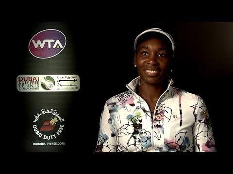 Venus Williams on Winning 2014 Dubai Duty Free Tennis Championships
