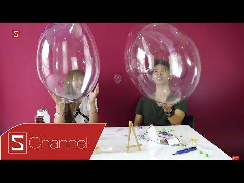 Schannel - Tuổi thơ tôi - Những món đồ chơi thời trẻ trâu: Keo bong bóng khổng lồ & Xe đạp kéo dây