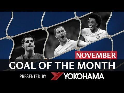 GOAL OF THE MONTH | November | HAZARD, MORATA, WILLIAN!
