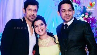 DD's (Divyadarshini) Has Dazzling Wedding Reception   Vikram,Vivekh, Srikanth,Shankar