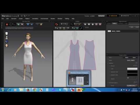Ứng dụng phần mềm thiết kế thời trang 3D