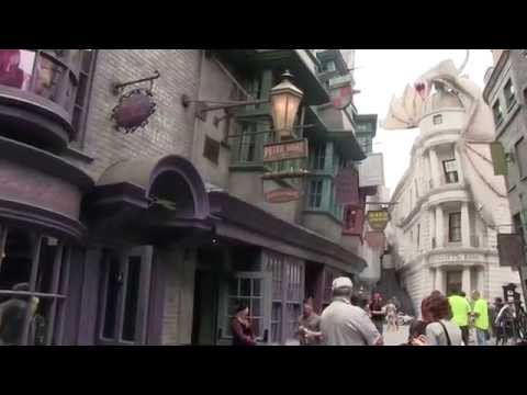 Look around Diagon Alley in Universal's new Wizarding World of Harry Potter expansion