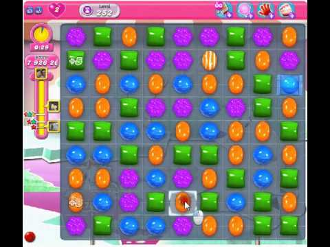 Candy Crush Level 252 20 million score - YouTube