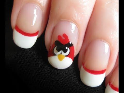 Angry Birds Nail Art, ♡⋅•⋅⋅•⋅♥⋅•⋅⋅•⋅