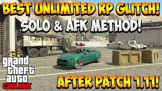 Gta 5 Online *Best* Unlimited RP Glitch After Patch 1.11
