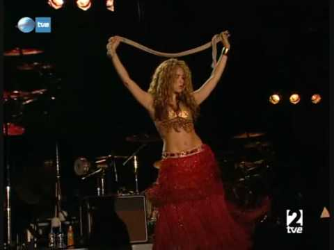 Shakira - Belly Dancing - YouTube