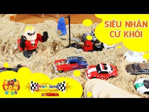 Hoạt hình xe đồ chơi - Thành Phố Tin Tin Tomica - T3: Siêu Nhân Cừ Khôi - Funnyland