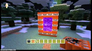 Minecraft Xbox 360 How To Make A TNT Portal