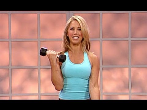 Denise Austin: Abs & Upper Body Workout - YouTube