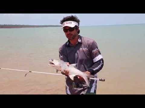 beach fishing with lures